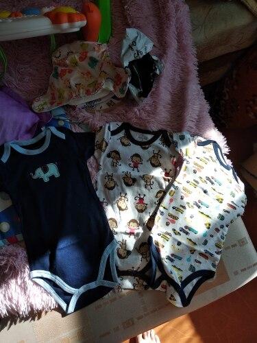 Мать гнездо 3 шт./лот фантазия детское боди Спортивный костюм для малышей комбинезон короткий рукав облегающий костюм Одежда для малышей Набор Лето Хлопок