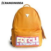 ls Black Travel Bag pack Fringe Rucksack