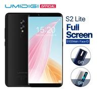 UMIDIGI S2 Lite Cellphone Dual Back Camera 16MP+5MP 5100mAh Big Battery Smartphone 4G LTE18:9 Full Screen Face ID Mobile phone