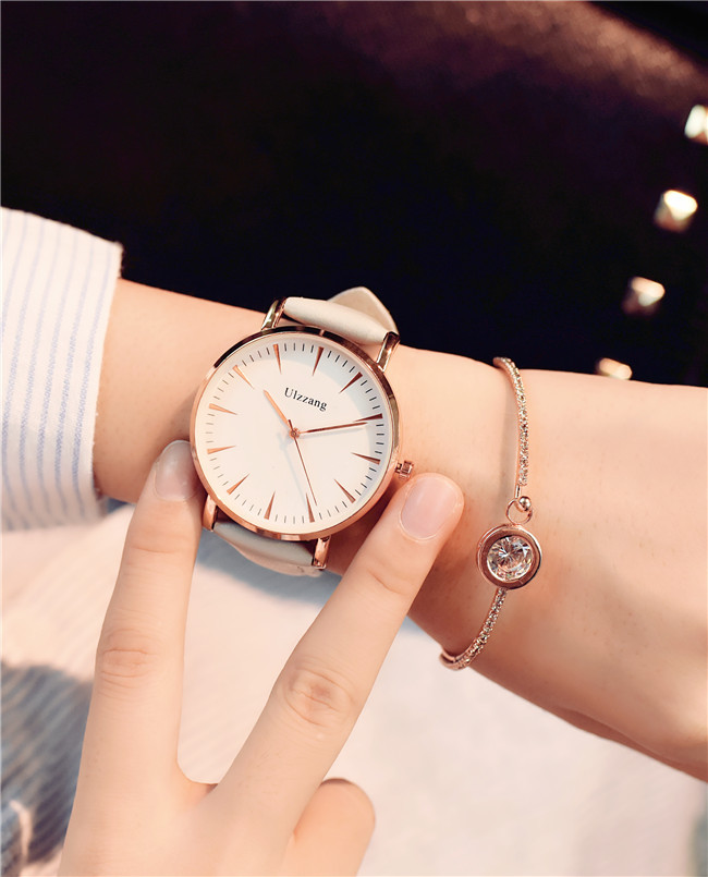 Fashion Trend Simple Women Casual Watches British Style Minimalism Ulzzang Brand Luxury Wristwatch for Lady Elegant Female Clock  tept79001 trend ready letters casual style