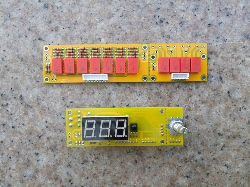 DIY KIT HIFI JV8 Remote Volume Preamp Kit 128 Steps 2 Channel 50K Relays