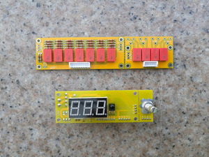 Image 1 - Diy 키트 hifi jv8 원격 볼륨 프리 앰프 키트 128 단계 2 채널 50 k 릴레이