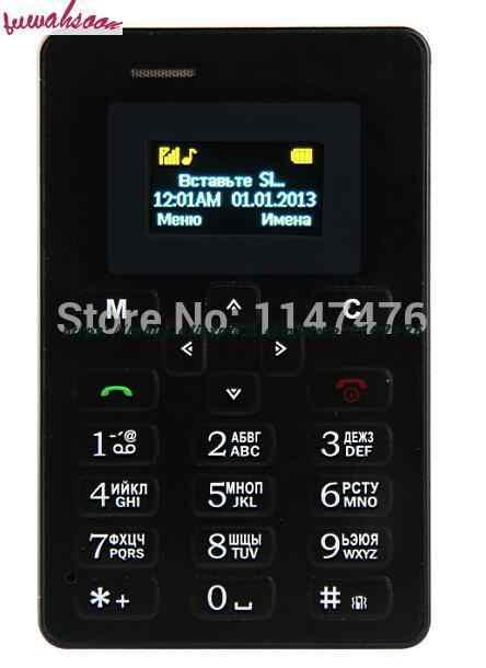 超薄型 Aiek M5 カード携帯電話ミニポケット学生人格電話の Bluetooth ダイヤラ Celular PK C6 X6 X8