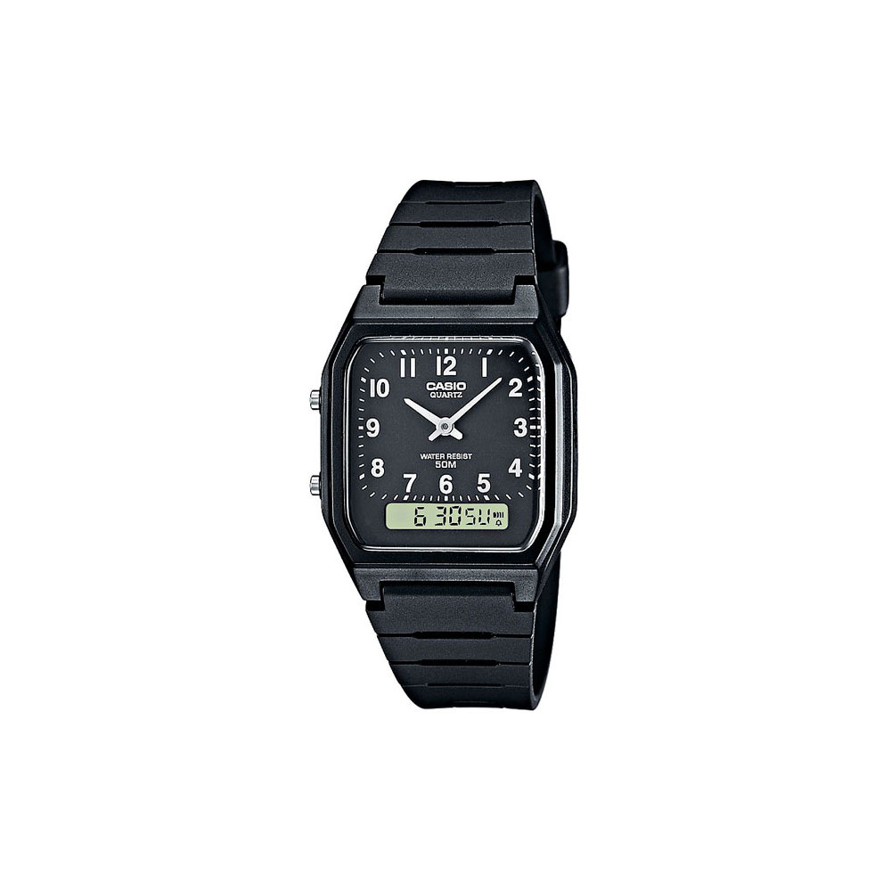 Montres à Quartz Casio pour hommes AW-48H-1B montres Mans montre-bracelet montre-bracelet hommes