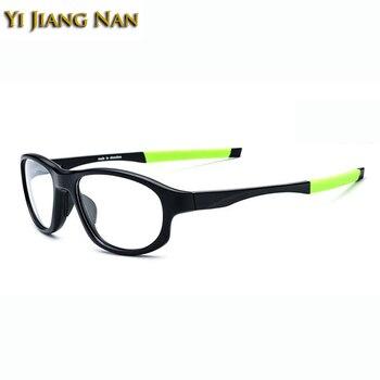 Yi Jiang Nan Brand Men Sports Glasses Frame TR90 Basketball Glasses Optical Prescription Spectacles Quality Glasses for Women