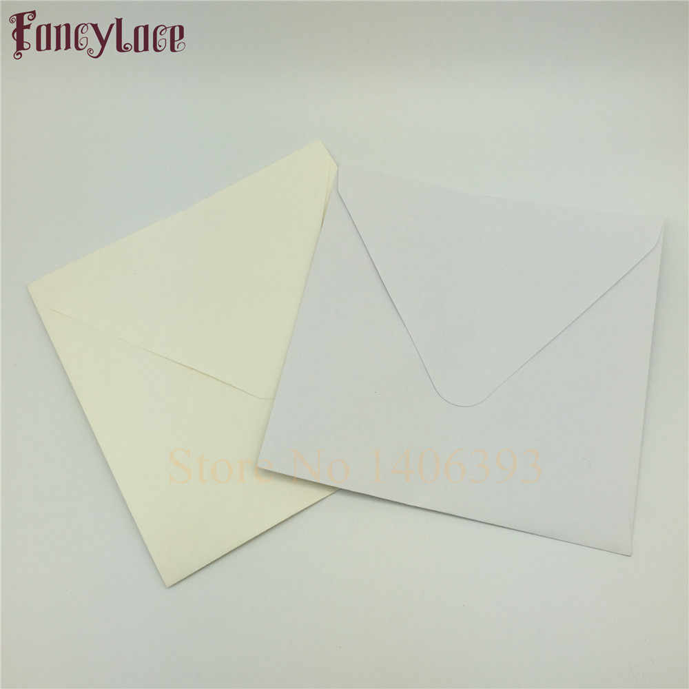 30pcs Set 16 16cm Vintage Ivory White Card Blank Paper Window