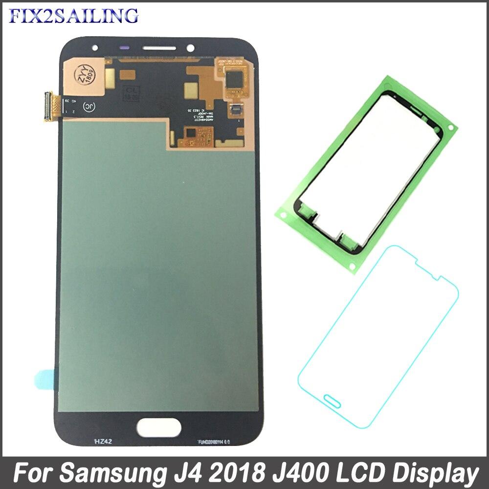 Super AMOLED Écran LCD Pour Samsung Galaxy J4 2018 J400 J400F J400F/DS J400G/DS Téléphone LCD Tactile écran Digitizer Assemblée