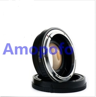 FD-NEX Focal Reducer Speed Booster Adapter for Canon FD mount Lens to for Sony NEX E NEX-F3 NEX-7 NEX-5N NEX-C3 NEX-3 NE