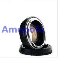 Tüketici Elektroniği'ten Lens Adaptörü'de FD NEX Odak Düşürücü Hız Yükseltici Adaptör Canon FD montaj Lens için Sony NEX E NEX F3 NEX 7 NEX 5N NEX C3 NEX 3 NE