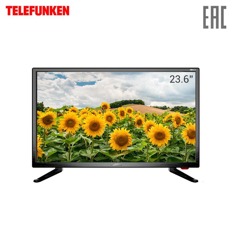 TV LED Telefunken 24 TF-LED24S37T2 телевизор telefunken tf led24s37t2