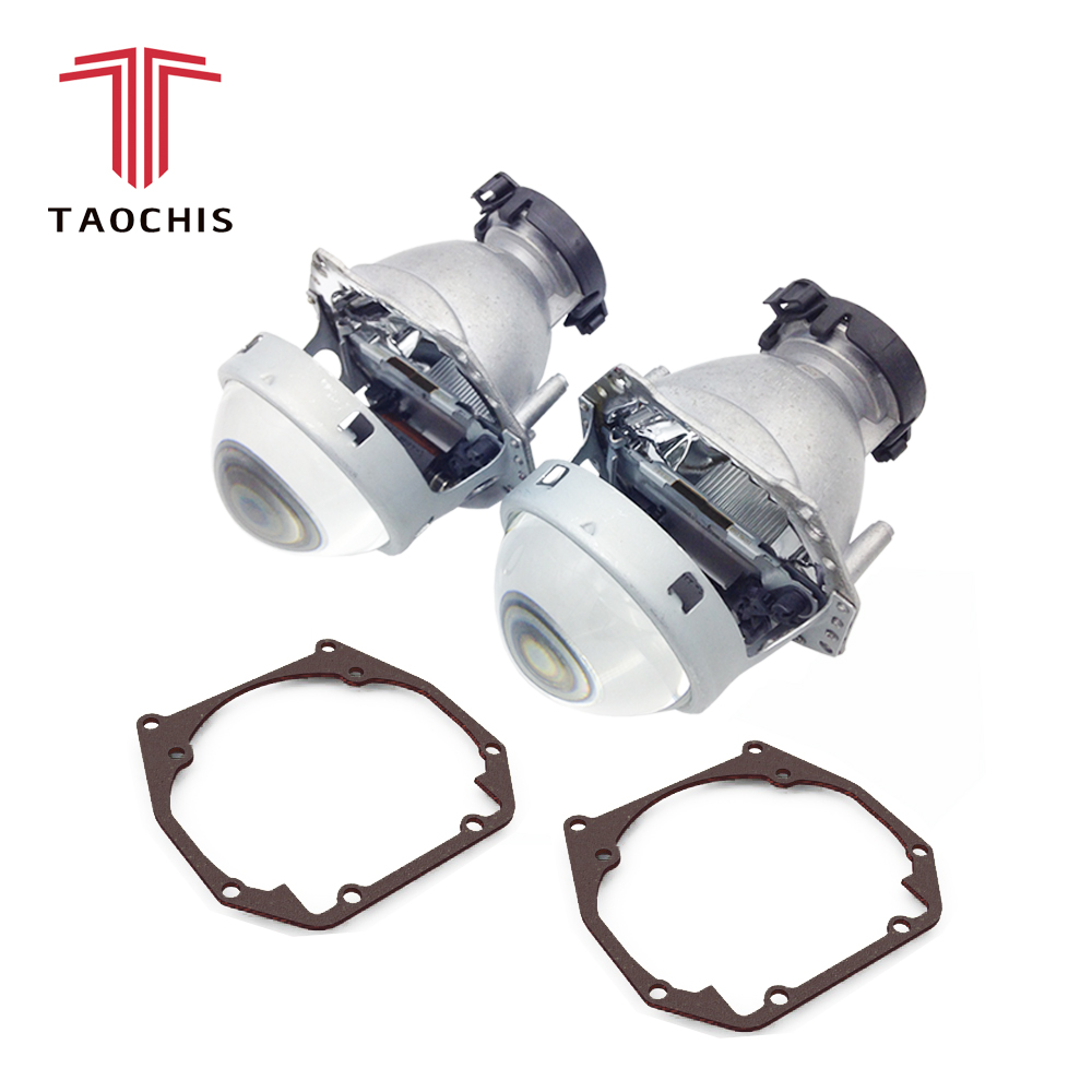 TAOCHIS Car Styling frame adapter Hella 3r G5 Projector lens retrofit for AUDI A6 C5 1997