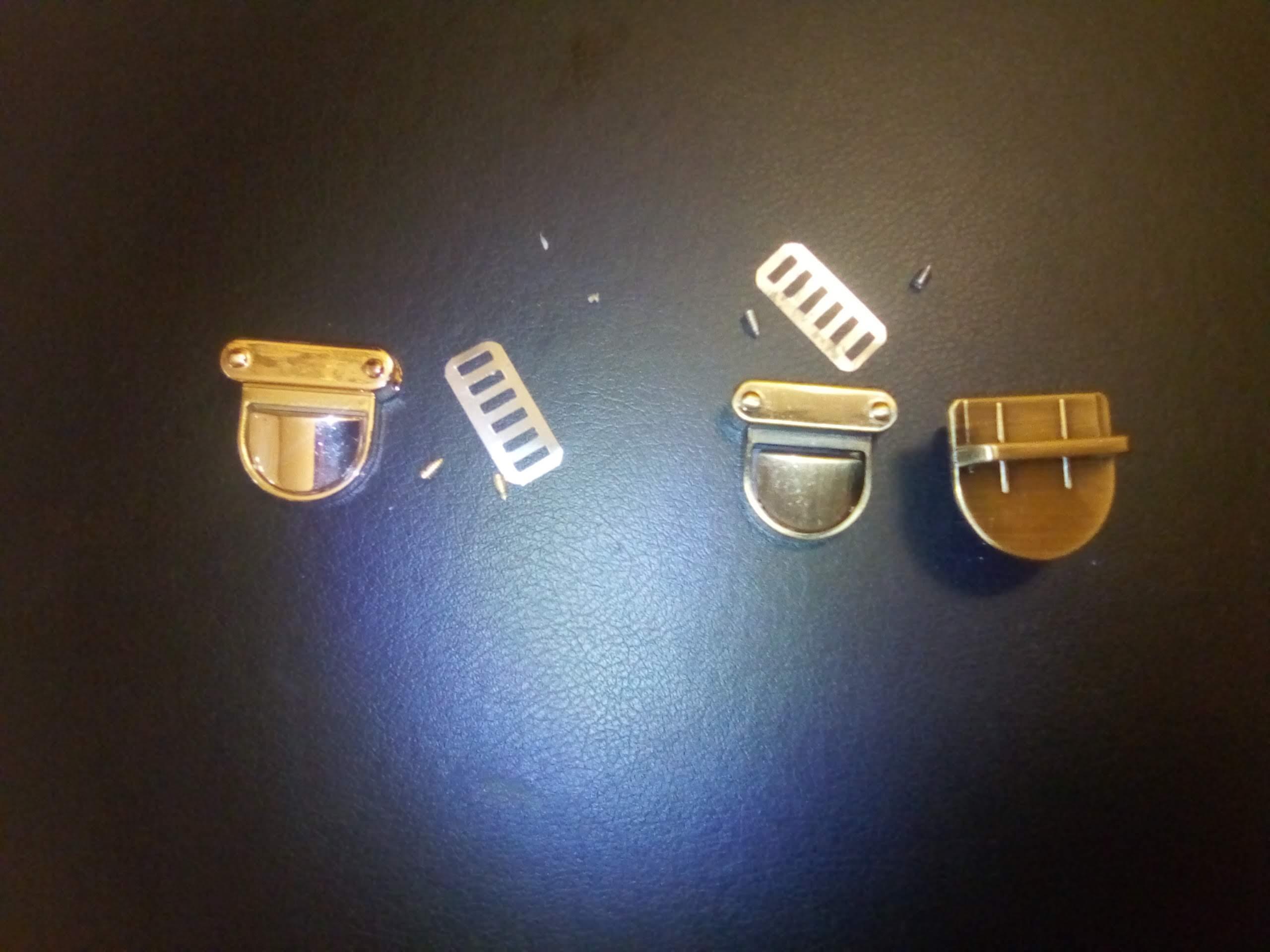 Nieuwste Metalen Sluiting Turn Lock Twist Lock voor DIY Handtas Tas Purse Hardware Sluiting photo review