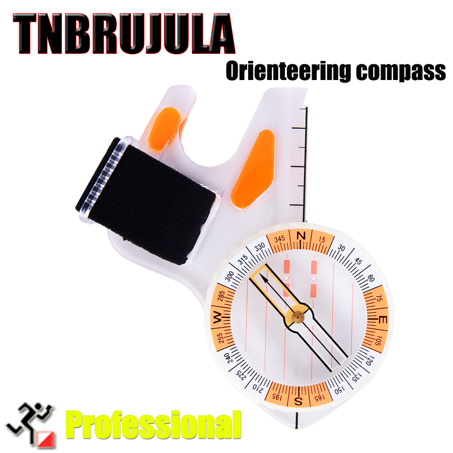Thumb orienteering compass outdoor directional Professional sports Orienteering map
