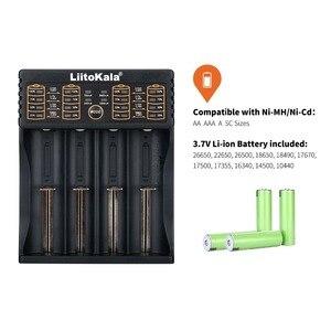 Image 2 - LiitoKala Lii 402 18650 Battery Charger For 26650 16340 RCR123 14500  LiFePO4 1.2V Ni MH Ni Cd Rechareable Battery lii402