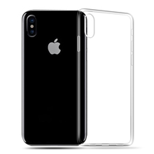 MEIZE TPU Silicon Case For iPhone 6s 7 8 X Case Transparent Silicon Case For iPhone 8 7 6 6S Plus Clear Soft TPU Back case Cover