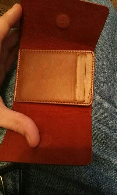 KUDIAN BEER Lederen Mannen Geld Clips Magneet Vrouwen Clips voor Geld Slanke Munt Houder Vintage Kaart Portemonnee- BID057 PR49 photo review