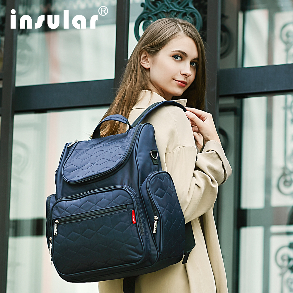 Insular Brand Bags For Women Portefeuille Femme Backpacks Bags Multi-function Waterproof BackpackInsular Brand Bags For Women Portefeuille Femme Backpacks Bags Multi-function Waterproof Backpack