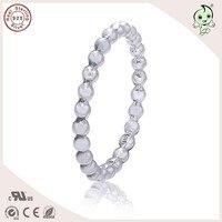 Mooie Kwaliteit Populaire Beroemde Merk Zomer Collectie Ball Bead Ontwerp 925 Authentieke Zilver Teen ringen