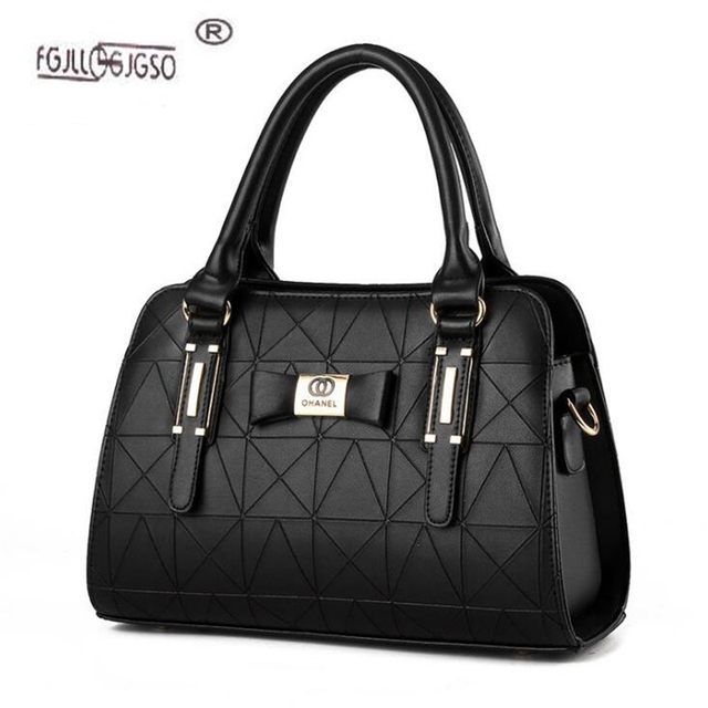 Women Handbag PU Leather Shoulder Bags Lady Large Capacity Crossbody Office Hand Bag