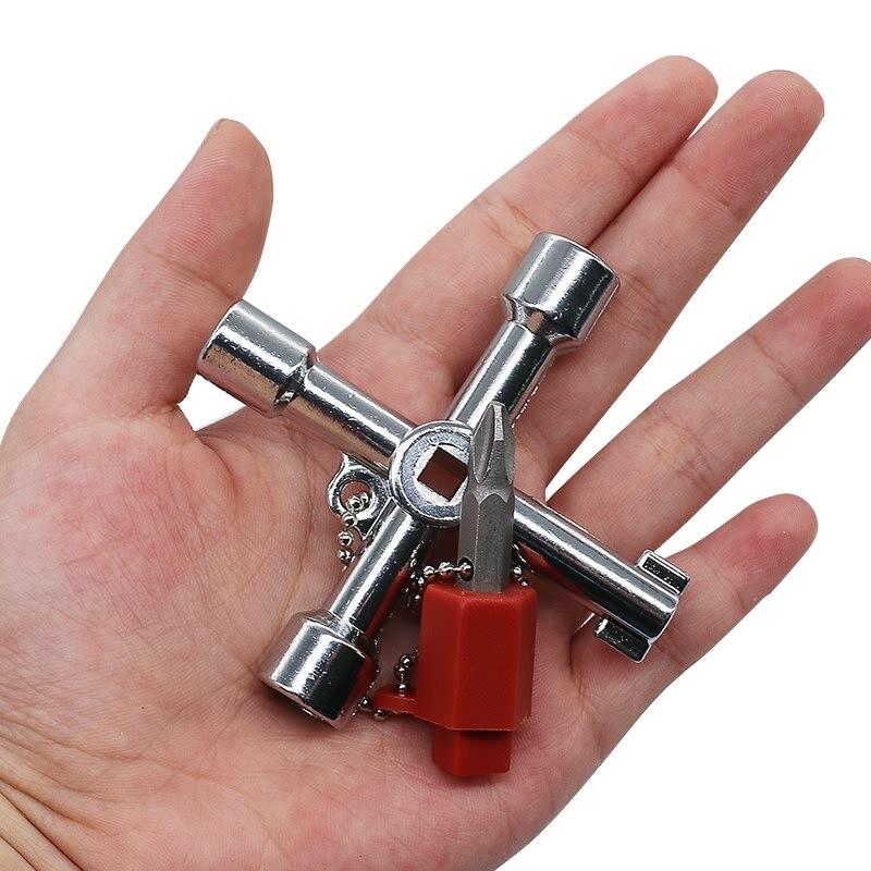 Plumbers Multi Tool 4 Way Gas Electric Meter Box Radiator Plumbing Tool Plumbers Utilities Gas Water Keys New