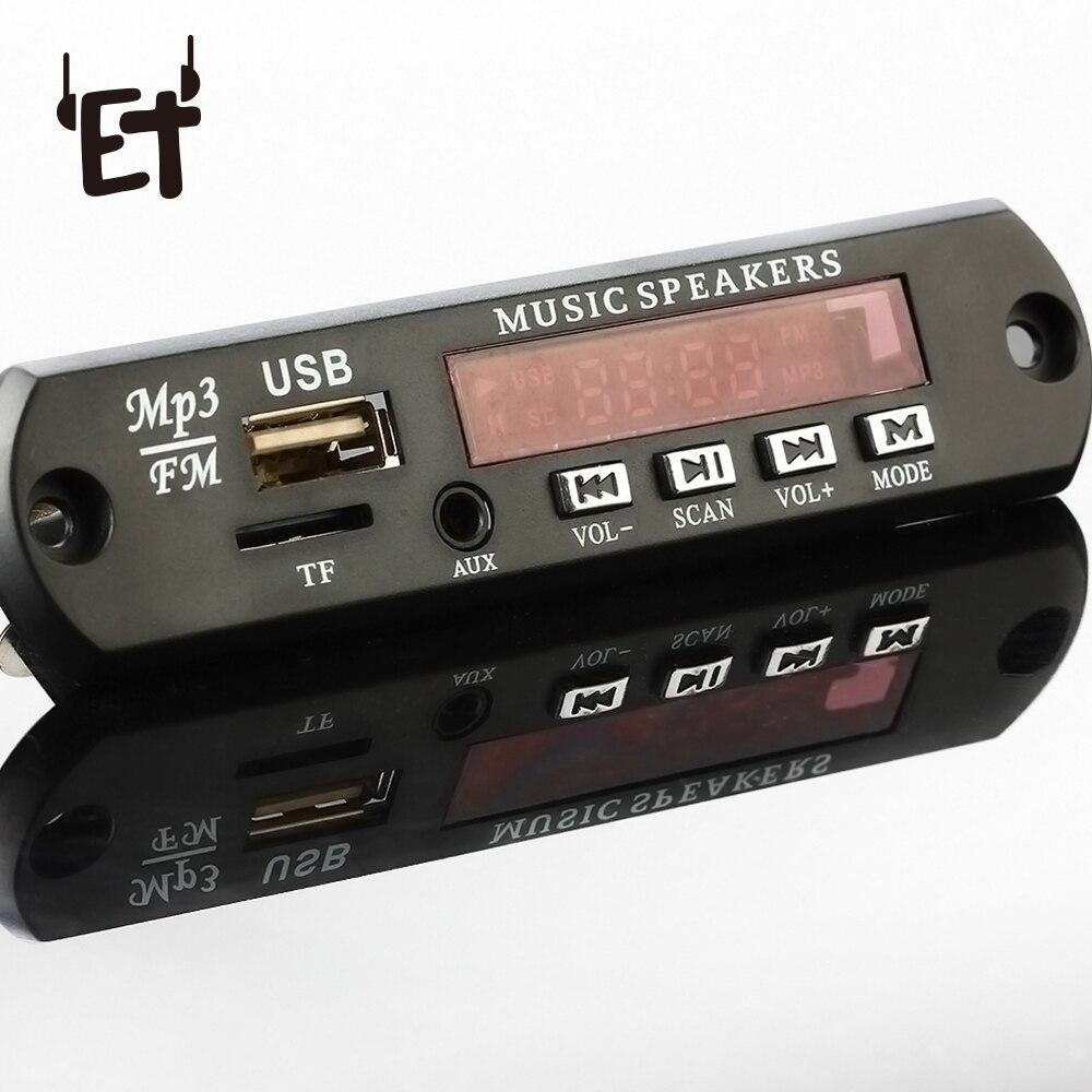 Tragbares Audio & Video Angemessen Et 5 V Mp3 Wma Decoder Board Audio Modul Usb Tf Radio Auto Mp3 Musik Player W/lcd Bildschirm Auto Musik Player Lautsprecher Accessorries