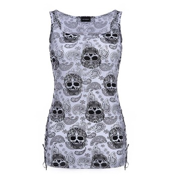 Skull Head Design T Shirts