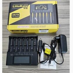 LiitoKala Lii-PD4 Lii-PL4 Lii-S2 Lii-S4 Lii-S6 18650 26650 1,2 V 3,7 V 3,2 V литий-ионный AA AAA NiMH батарея умное зарядное устройство