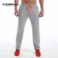 2017 Autumn Men Casual Baggy Pants Plus Size Tracksuit Joggers Track Casual Sweatpants Sportswear Gyms Clothing