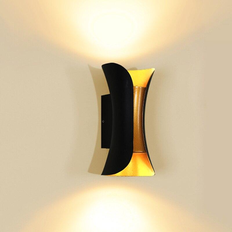 Wand Lampe IP65 Wasserdichte Outdoor 10 watt FÜHRTE Wand Licht Innen Schlafzimmer Dekorative beleuchtung Veranda Garten Lichter Wand Lampen