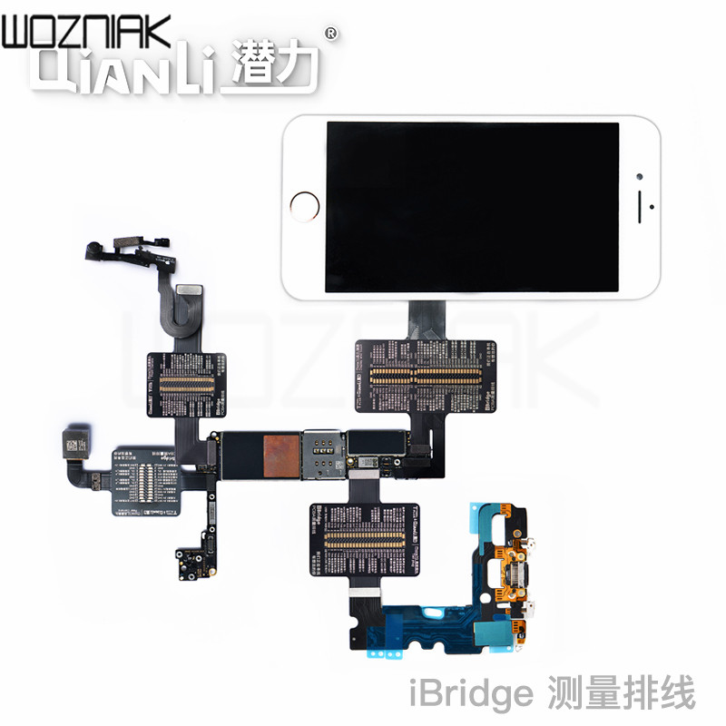 QIANLI TOOLPLUS IBridge PCB Testing Cable For Front Camera/Rear Camera/Dock Connector/Touch /test Voltage And Resistance