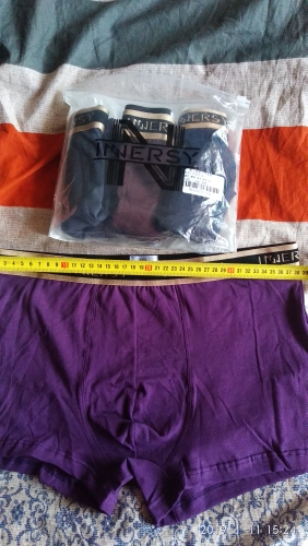 Innersy Shorts Mens 4Pcs\lot Underwear Soft Boxers Cotton Boxer Men Solid Boxer Shorts Plus Size Boxers Mens Underwear Lot