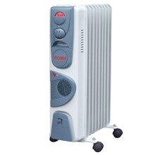 Обогреватель масляный Ресанта ОМ-9НВ (Мощность 2400 Вт, 3 режима мощности, регулировка температуры, защита от перегрева, площадь обогрева до 25 кв.м)