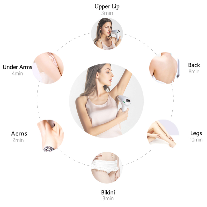 Image 3 - IPL laser hair removal machine depilador a laser IPL Laser Epilator Permanent Hair Removal Electric depilador  500000 Flashes-in Epilators from Home Appliances
