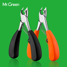 MR.GREEN Toe Ny Professionell Rostfri Stål Manikyr Trimmer Art Tänger Cuticle Sax Nail Clipper Nail Cutter
