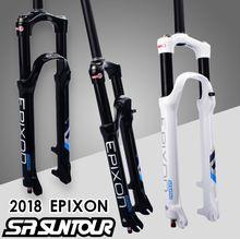 SR SUNTOUR Велосипедная вилка EPIXON 26 27,5 29er 100 до 120 мм путешествия горный велосипед вилка воздушного демпфирования передняя вилка 2019