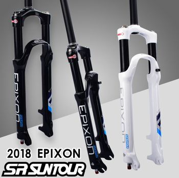 SR SUNTOUR Bicycle Fork EPIXON 26 27.5 29er 100 to 120mm Travel Mountain MTB Bike Fork of air damping front fork 2019