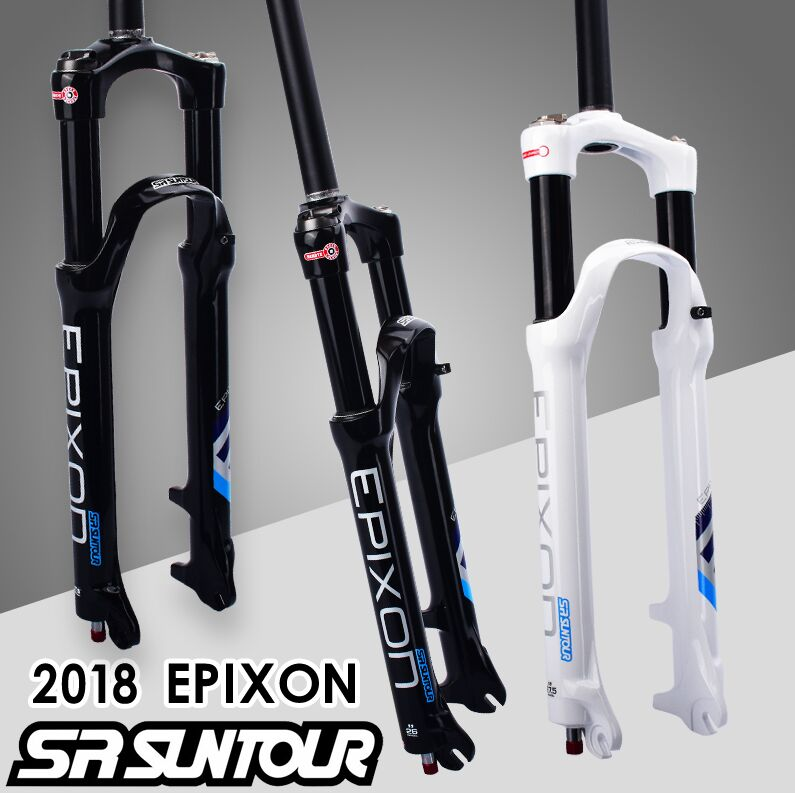 SR SUNTOUR Bicycle Fork EPIXON 26 / 27.5 / 29er 100mm Mountain MTB Bike Fork of air damping front fork 2018 sr suntour xcm bicycle fork 26 inch mountain bike fox mtb