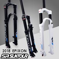 SR SUNTOUR Bicycle Fork EPIXON 26 27.5 29er 100 to 120mm Travel Mountain MTB Bike Fork of air damping front fork 2019