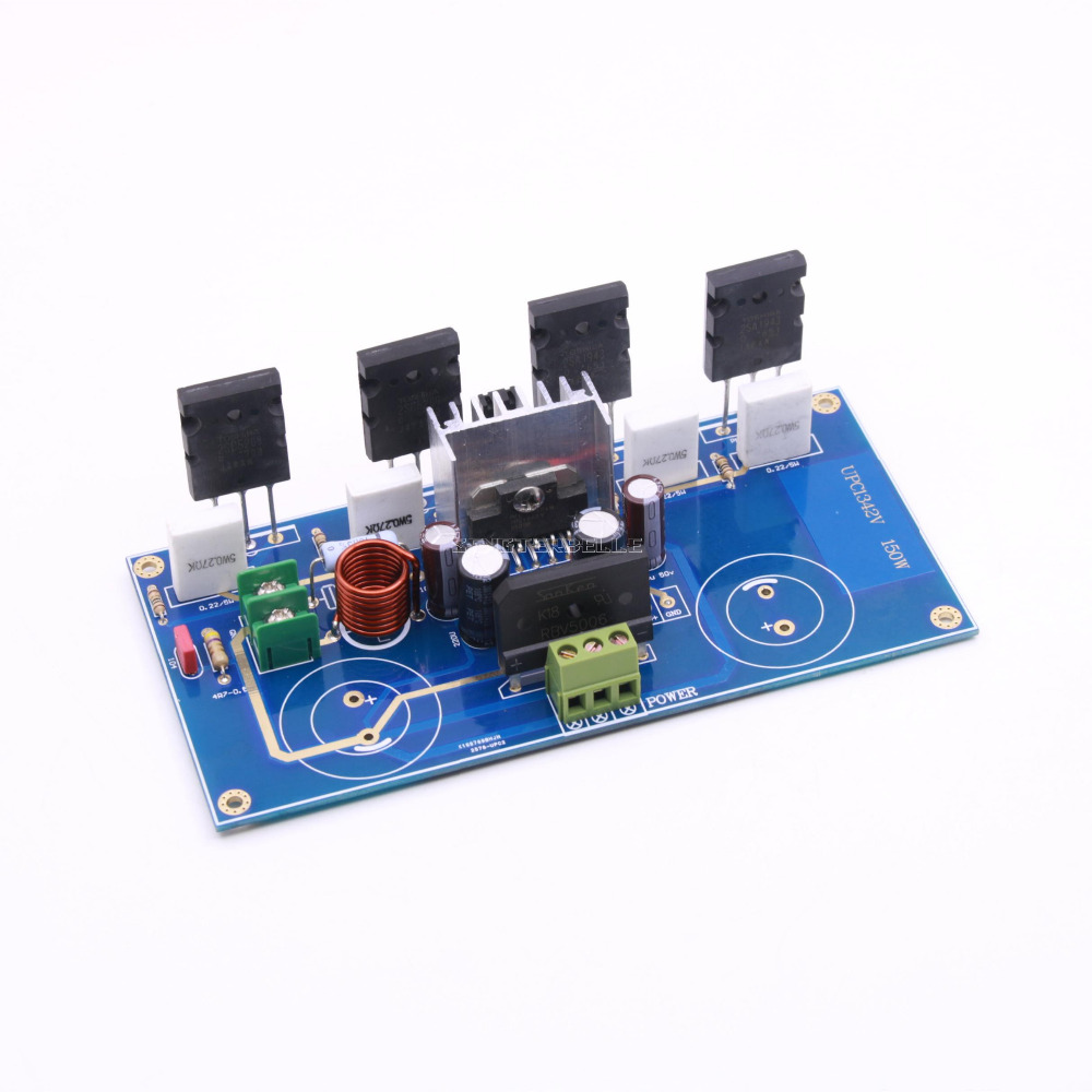 Assembly UPC1342V 2SC5200 2SA1942 power amplifier board Mono HiFi Amp board