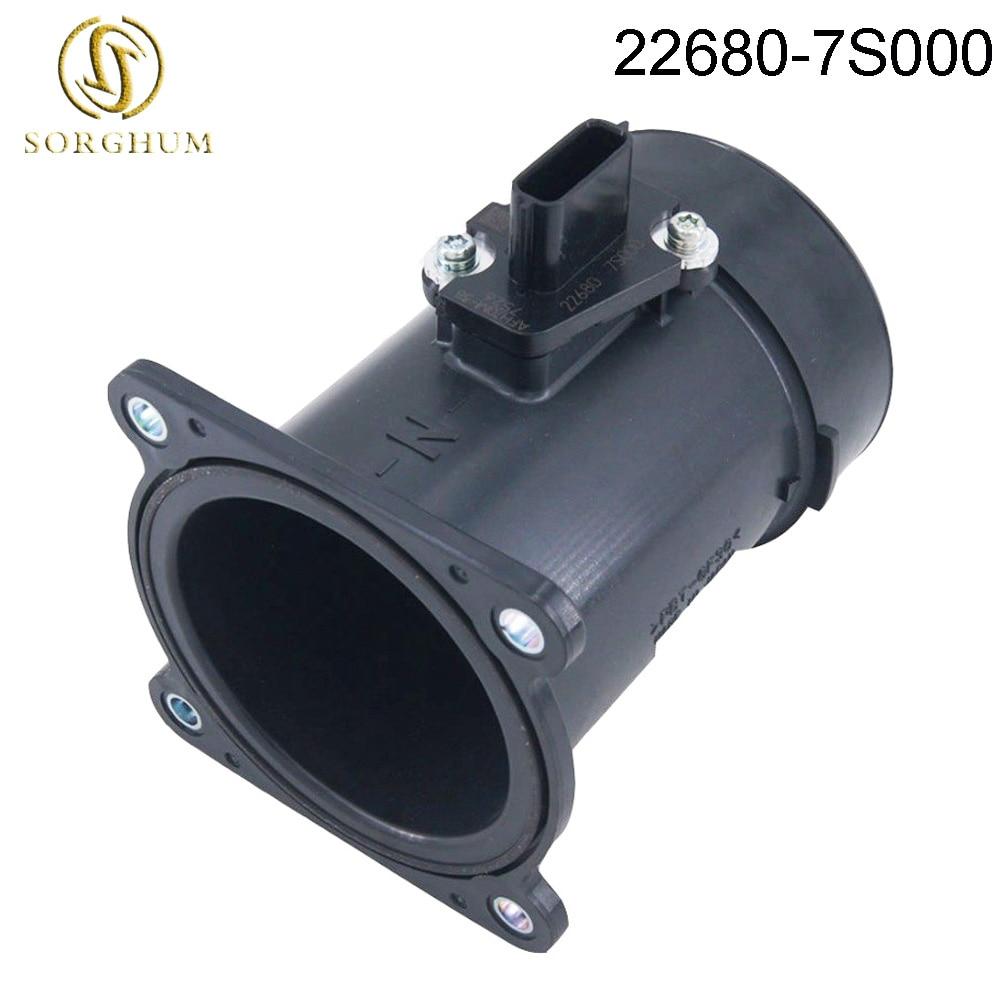 New Original Perfect Quality Mass Air Flow Meter MAF Sensor for Nissan Infiniti 22680 7S000 22680 CA000 Air Flow Meter     - title=