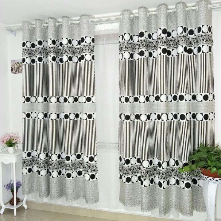 Us 10 74 28 Off Short Curtains In The Kitchen For Nursery Window Bobbed Cortinas Door Curtain Bedroom Roman Blinds