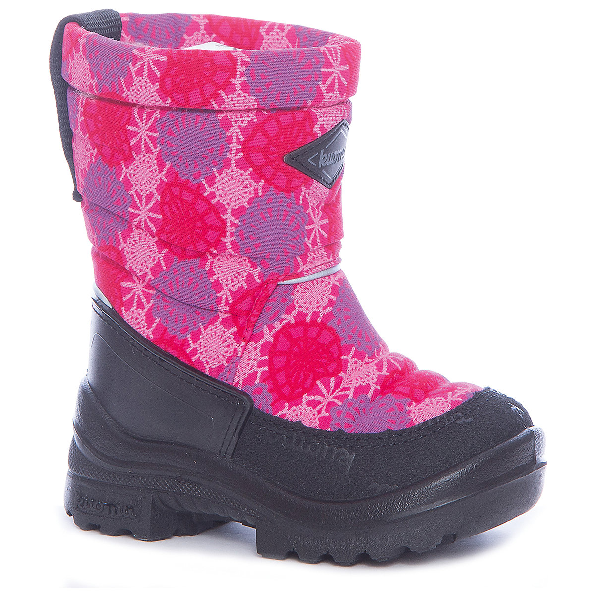 Boots KUOMA for girls 7047305 Valenki Uggi Winter Baby Kids Children shoes wetkiss designer metal flower thick heels ankle boots for women genuine leather shoes woman pointed toe zipper female boots