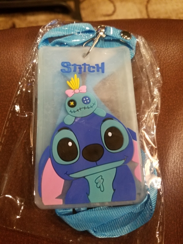 New Women Cover Bag Cartoon Animal Design Bus Name ID Hanging School Job Id Card Passport Card Holder Holder Case With String photo review