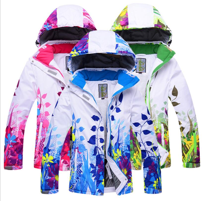 New Children Boys or Girls Winter Skiing Snowboarding Jacket Ski Coat Children's Snowboard Jacket Winter Thicken Ski Coat Kids