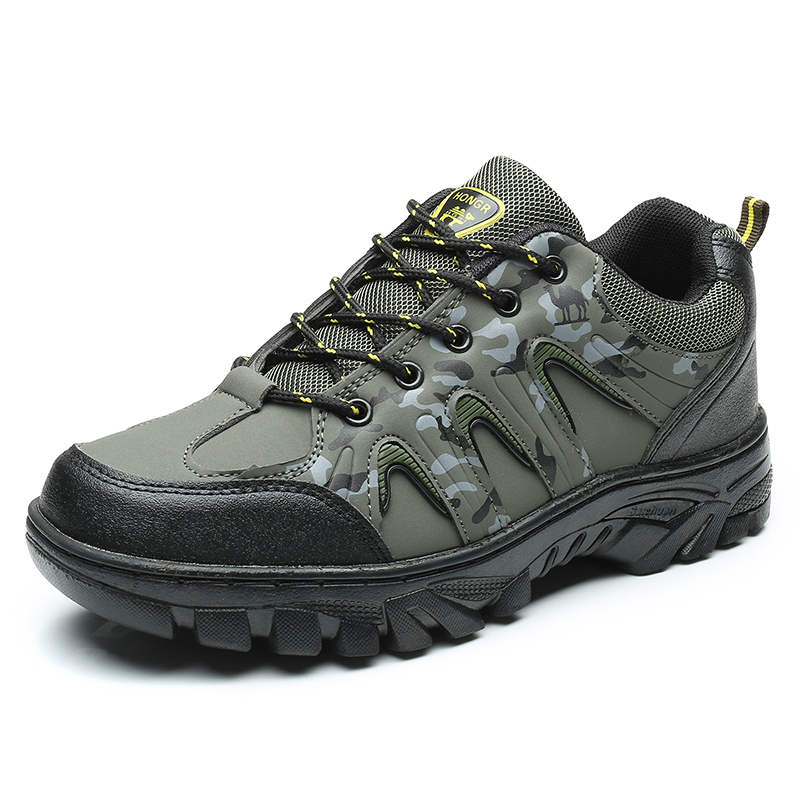 New Listing 2017 Men's Camouflage Outdoor Sports Climbing Boots Shoes Men Anti-slip Hiking Sneakers Shoes for Outside Trekking hot sale winter hiking shoes men breathable outdoor leather trekking lace up sneakers boots brand climbing slip camouflage hunt