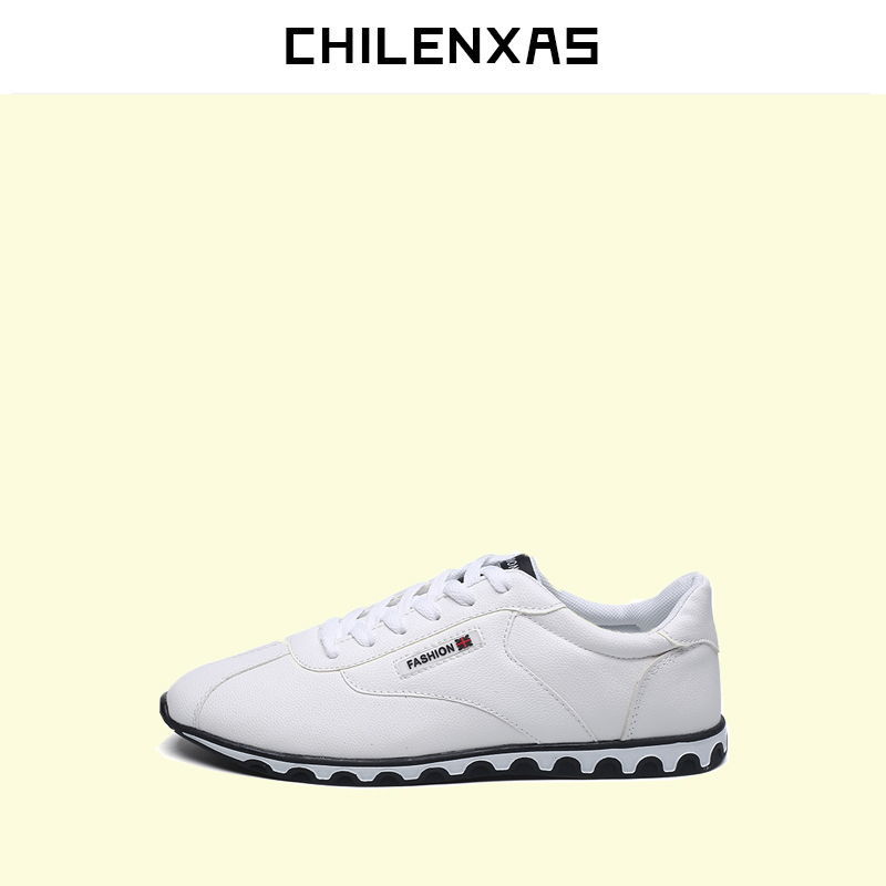 CHILENXAS 2017 Spring Autumn Oxfords 100% Soft Genuine Leather Shoes Men Casual New Fashion Breathable Comfortable Lace-up Solid urbanfind fashion men brand oxfords quality leather shoes size 37 44 for spring summer autumn casual lace up man footwear