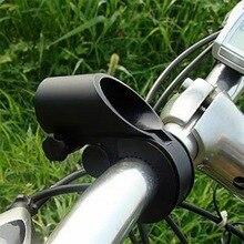 Наружные спортивные аксессуары для велосипеда, черный велосипедный держатель на руль, велосипедный светильник, велосипедный флэш-светильник светодиодный зажим для фонаря, подставка для лампы