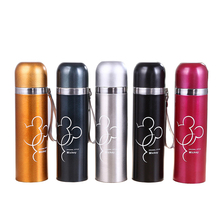 500ml Metal Stainless steel Bottle Mug Thermal Thermocup Fashion coffee Business Travel Vacuum Drink Flask thermal kettle