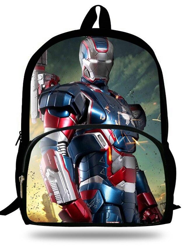 Sammlung Hier 16-zoll Kinder Schulrucksack Iron Man Für Alter 7-13 Kinder Schultaschen Jungen Superman Rucksack Mochila Infantil Weich Und Leicht Gepäck & Taschen