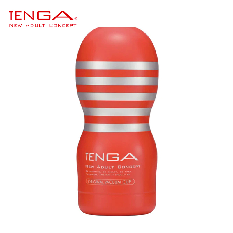 Original TENGA Male Vacuum Cup Deep Throat Prelubricated Masturbate Stimulating Suction Simulating Oral Sex Tightness